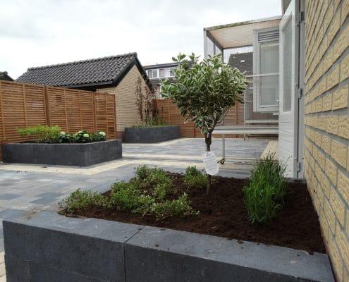 Tuinproject op de Akkerweg in Huizen